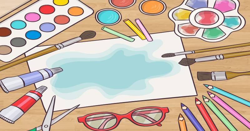 Importância das atividades com colagem e pintura na educação infantil