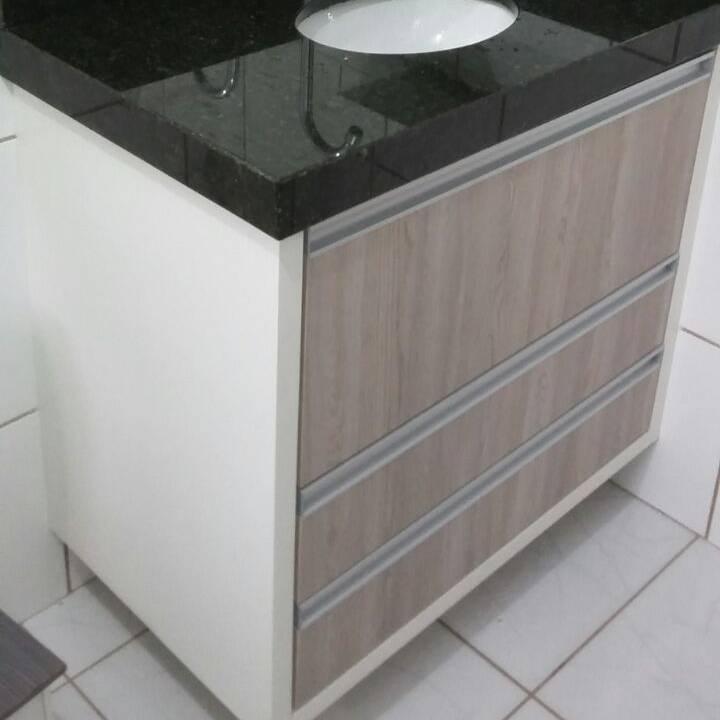Movel Para Banheiro Azul : M?vel para banheiro cuboguia