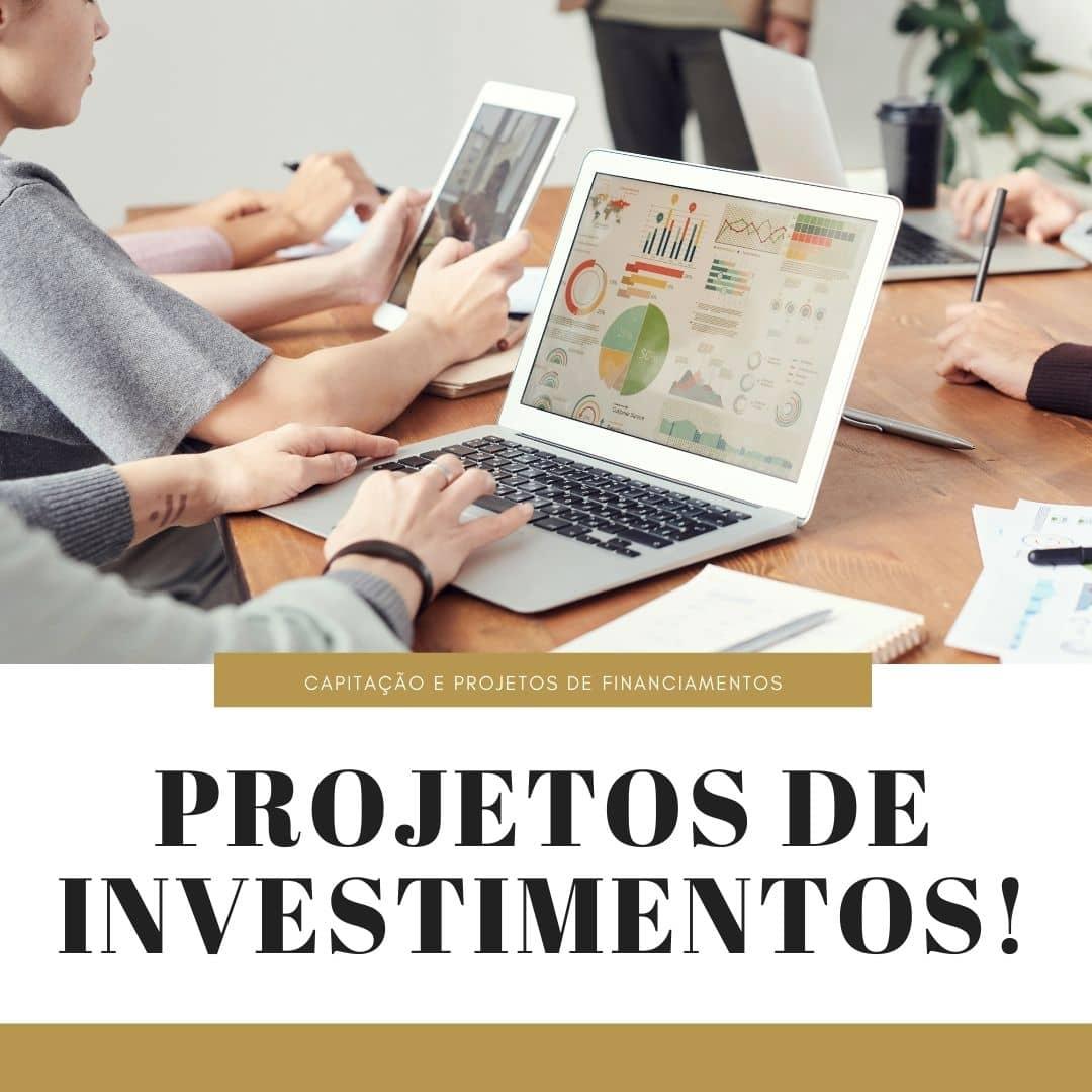 Projetos de Investimentos