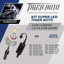 Super LED Tiger Auto (6000k)