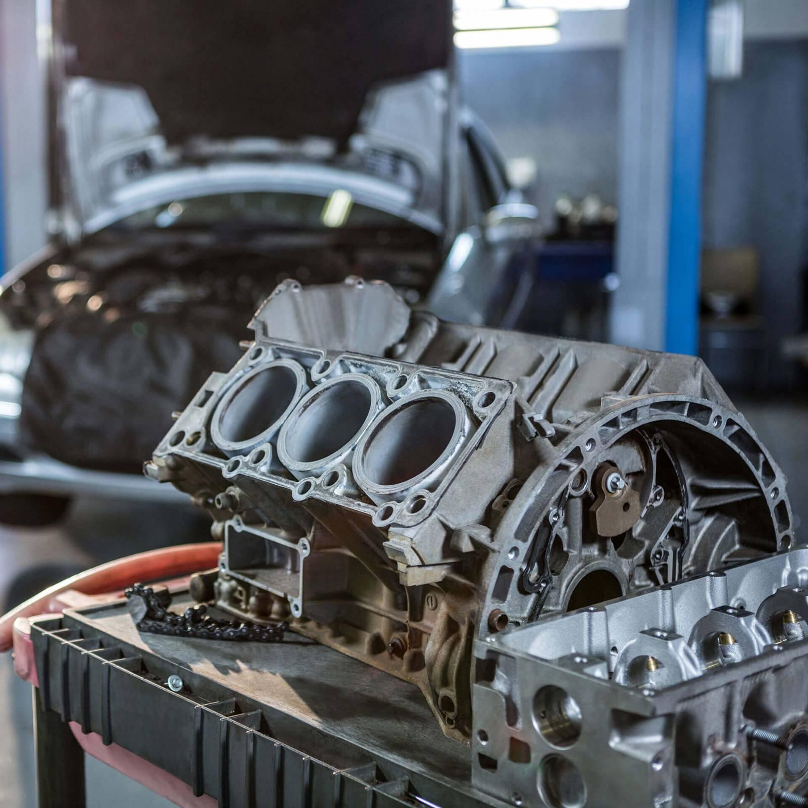 Manutenção em Motores