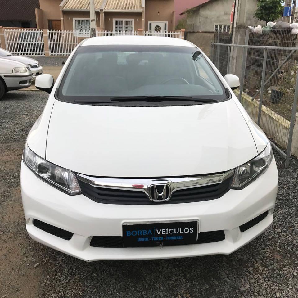 Honda Civic LXS automático 1.8 - 2014 (VENDIDO)