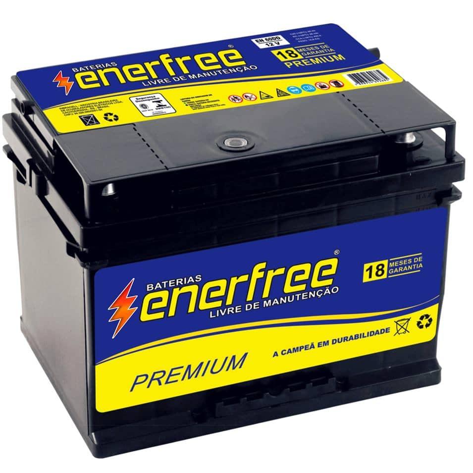 Bateria Enerfree 60 ah - 18 meses de garantia!!