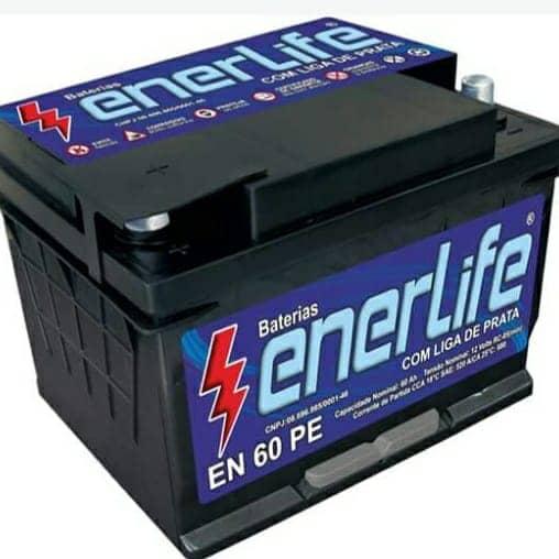 Bateria Enerlife 60 ah - 12 meses de garantia!!