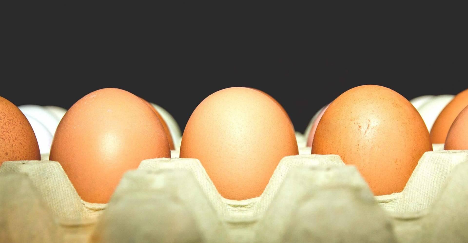 A Cor dos Ovos de Galinha