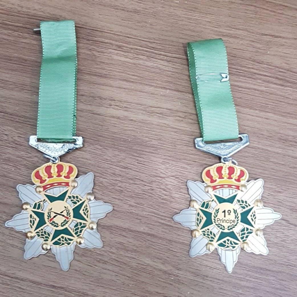 Medalhas e Premiações